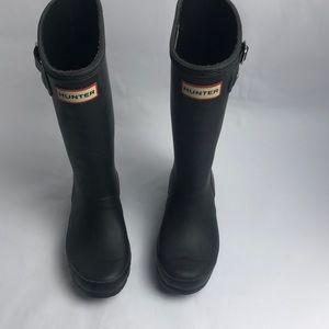 Hunter kids rain boots Size 1b/2G